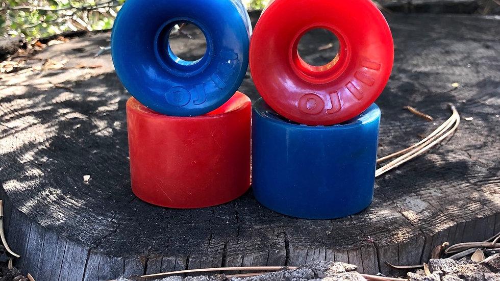 OJ Super juice / blue - red combo