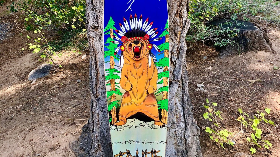 Tallac Grizzly deck