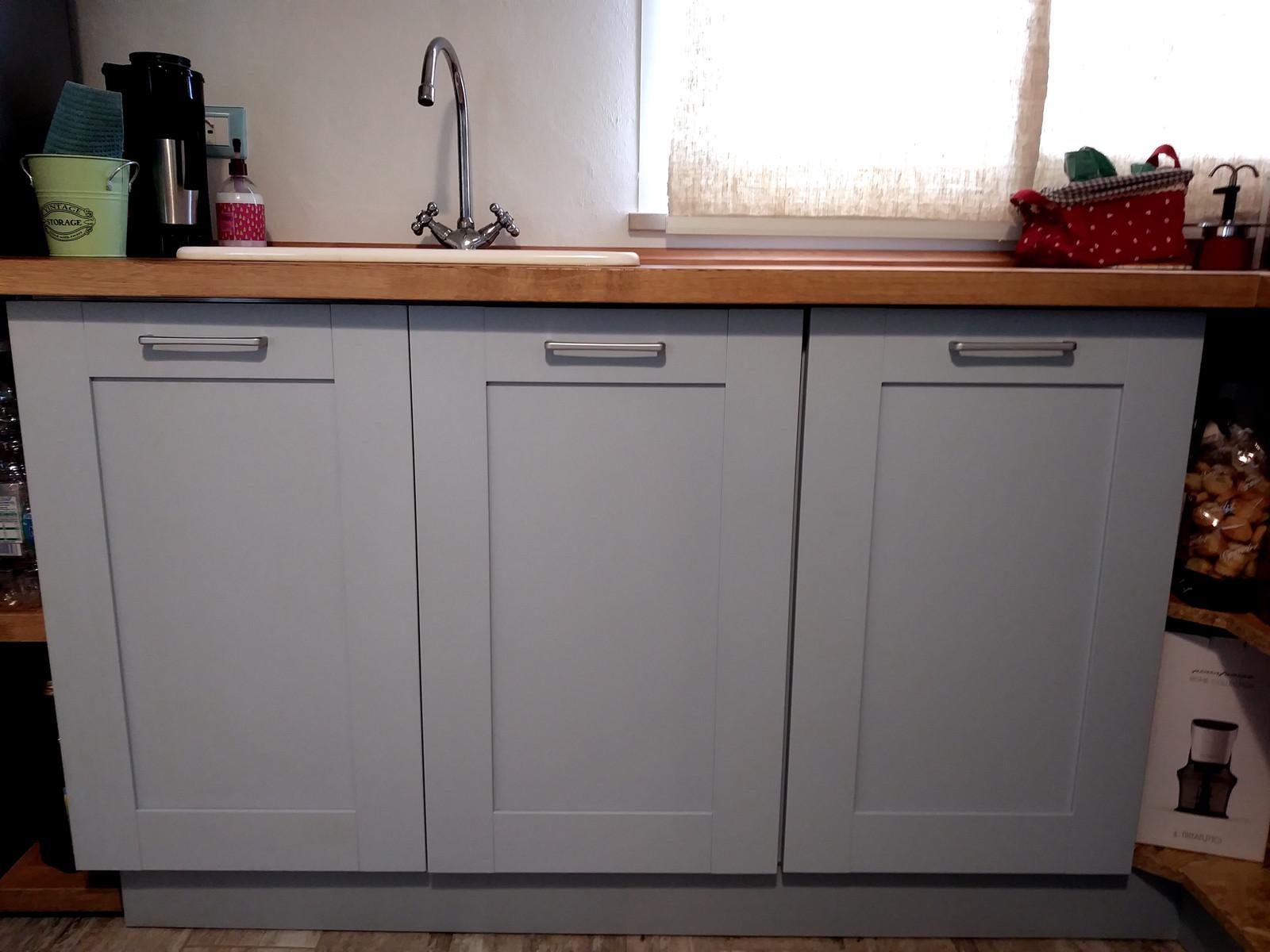 Restauro mobile di cucina