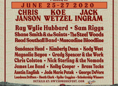 Say 'Hello' to the Hwy 30 Music Fest Lineup!