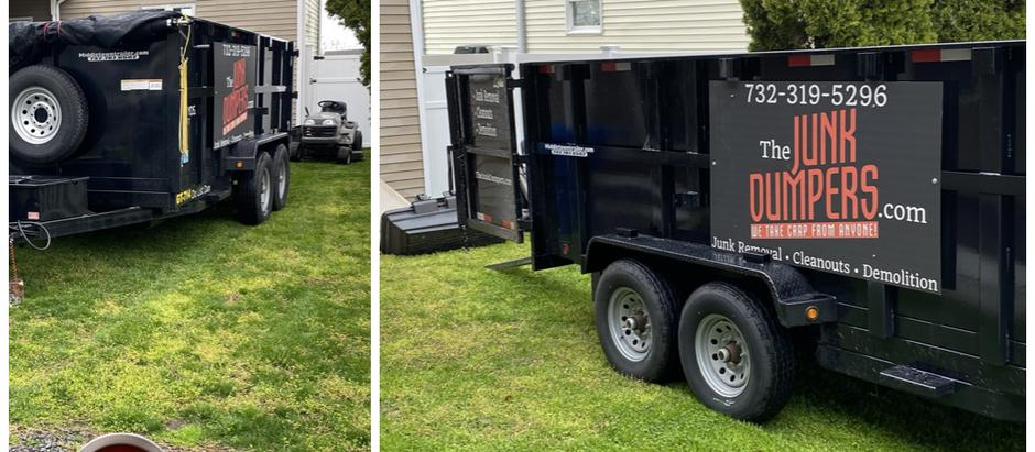 Easy dumpster rentals!