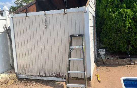 Shed removal