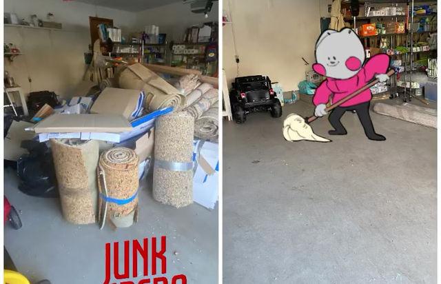 Garage mess !