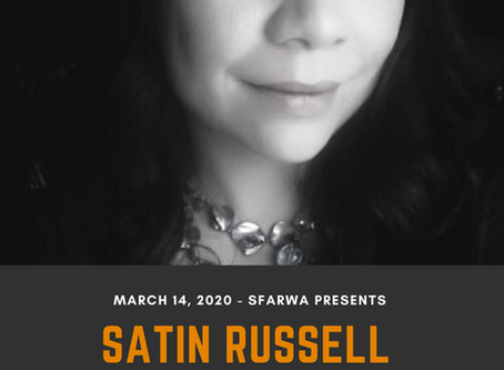 March 14, 2020 - POSTPONED - Satin Russell: How to be a Badass Book Busker