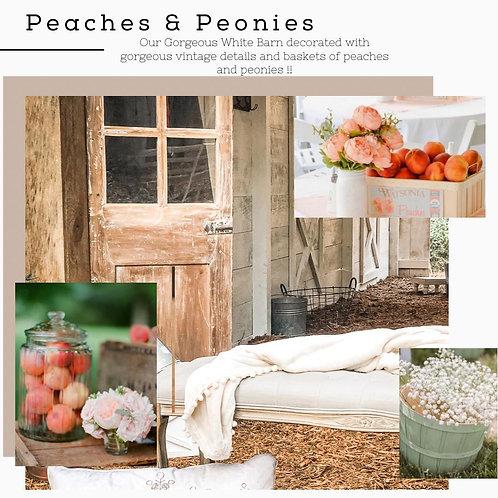 SPRING MINIS - Peach and Peonies