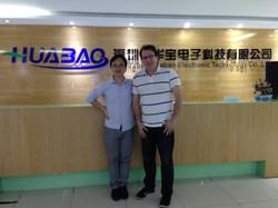 Meeting at Huabao GPS