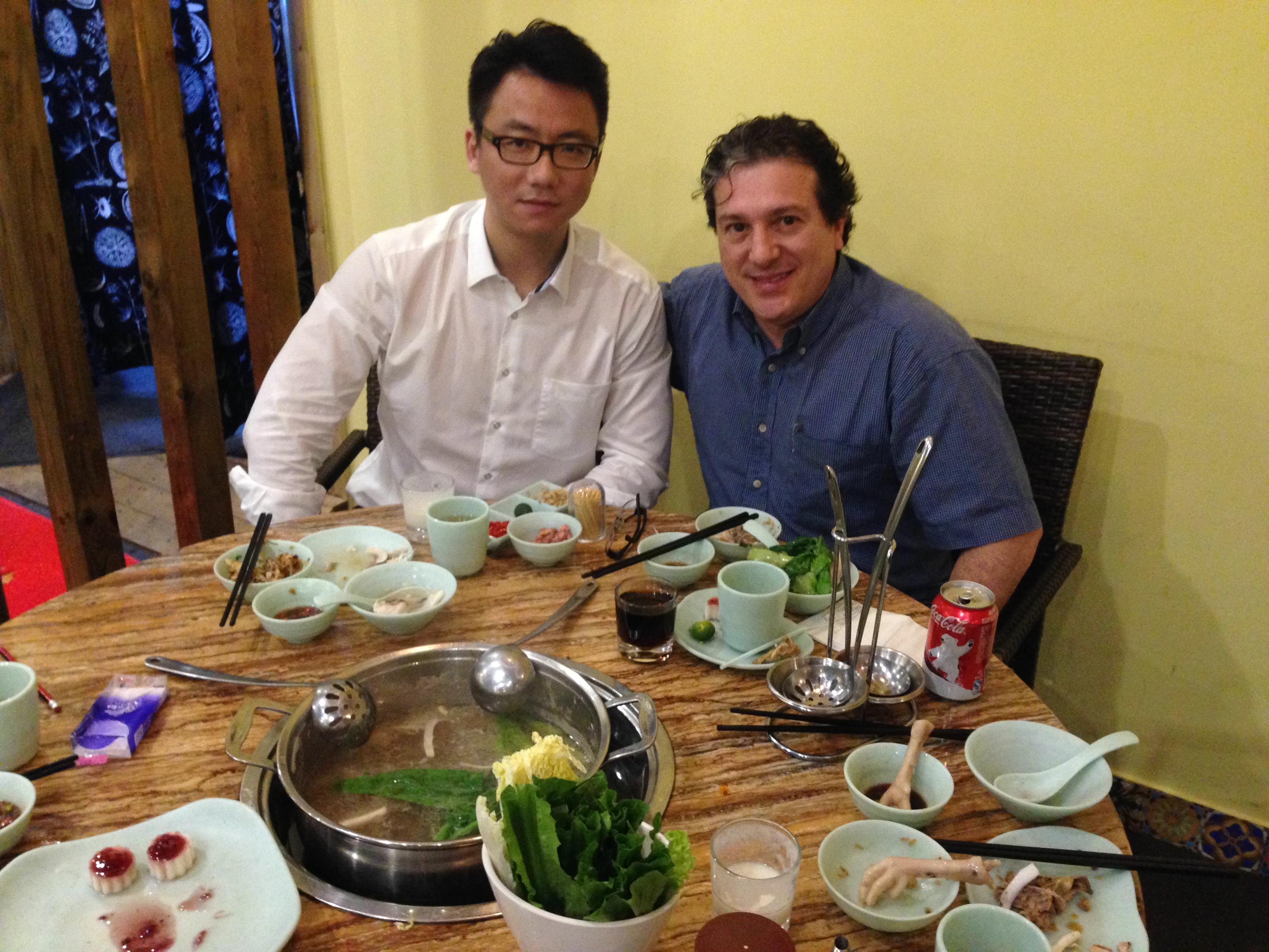 Jantar com Dir. Fábrica-Shenzhen