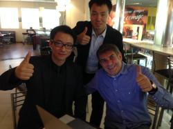 Meeting com diretores da fábrica