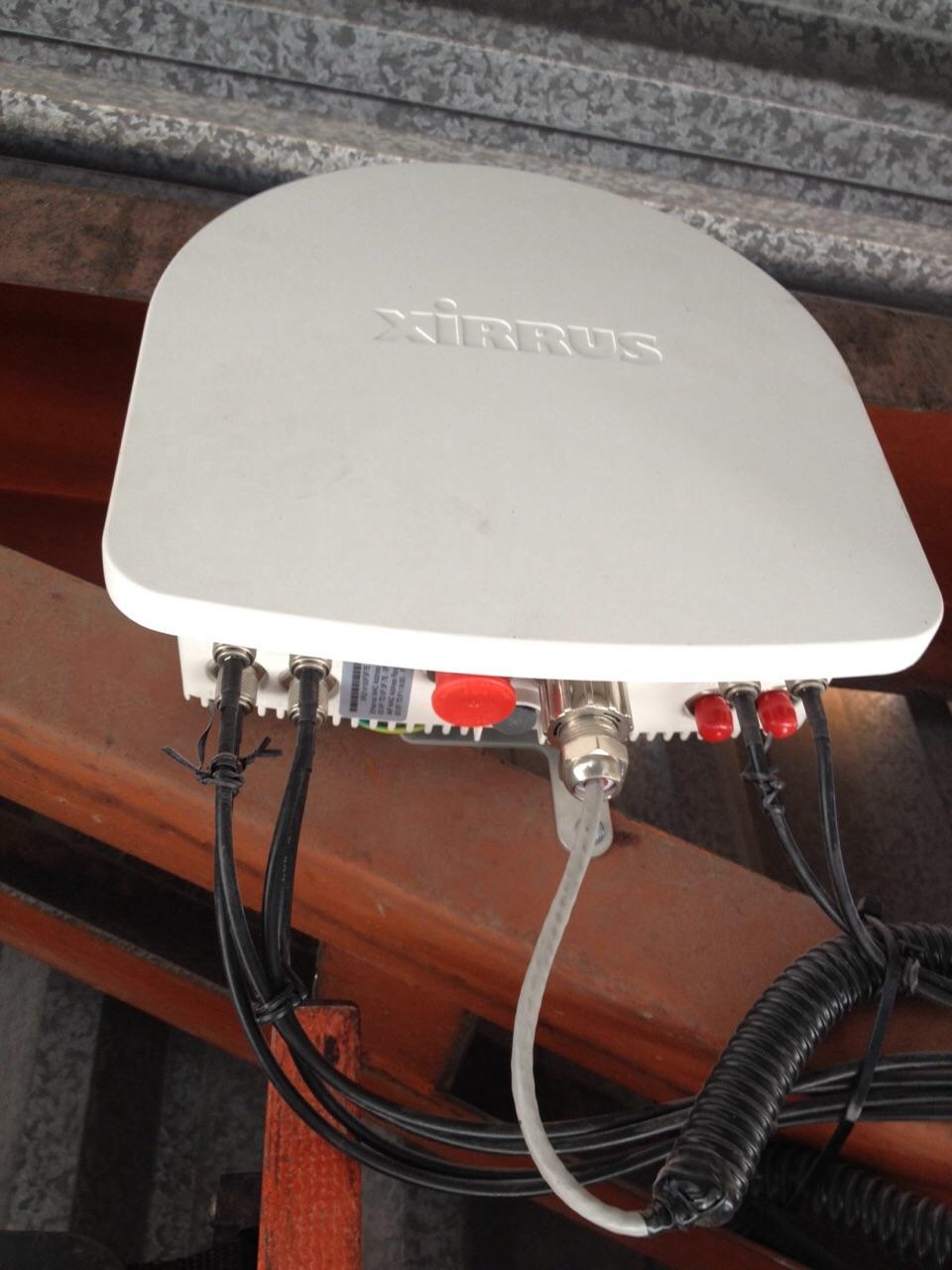 Implantação Antenas Wifi Xirrus