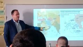 מגמת הדיפלומטיה במפגש עם סגן שגריר ישראל באוקראינה