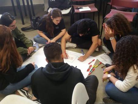 תלמידי בן צבי נפגשו עם תלמידים מג'וליס
