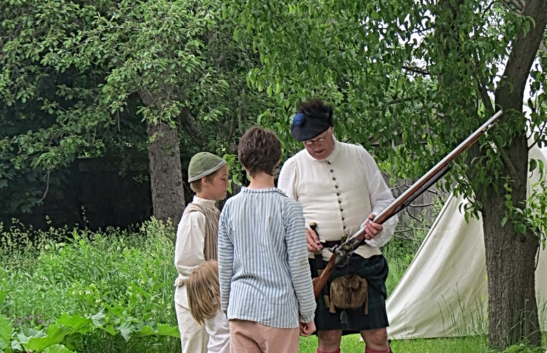 This is a musket