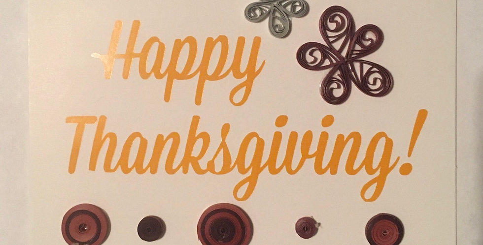 3pc Thanksgiving Cards