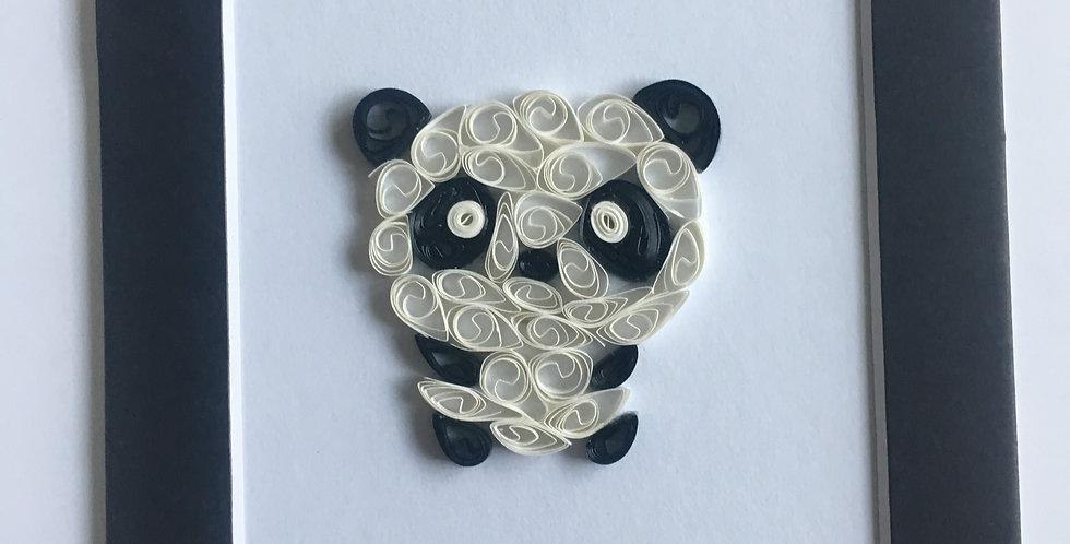 Baby Panda 4x6