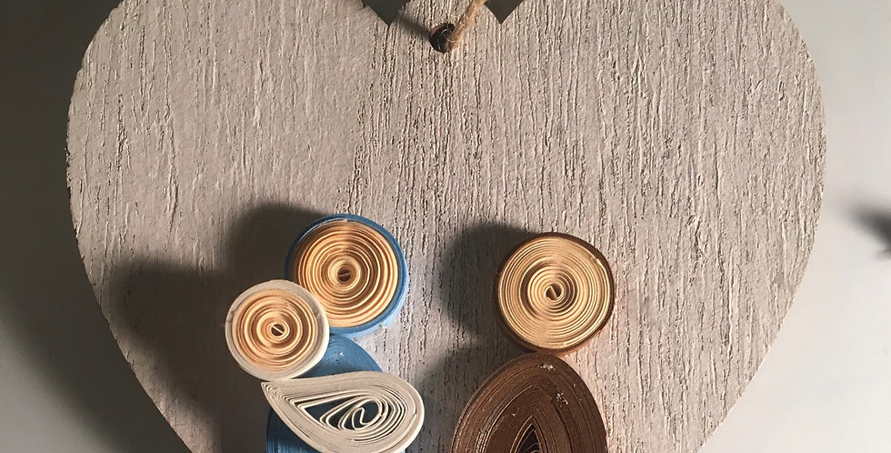 Paper Quilled Nativity