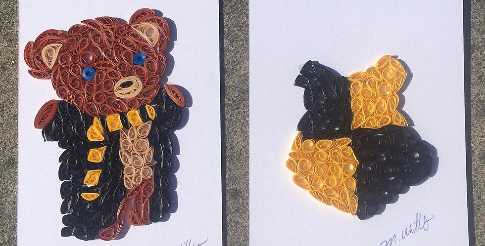 House Bear and Sheild Combo