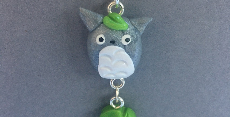 Totoro Leaf Necklace