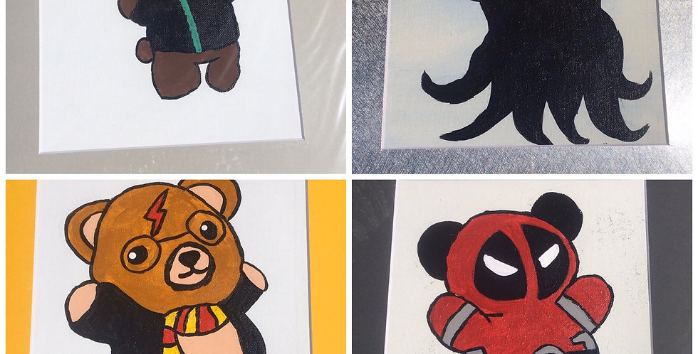 Bear Paintings