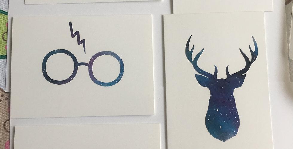 Harry potter card set