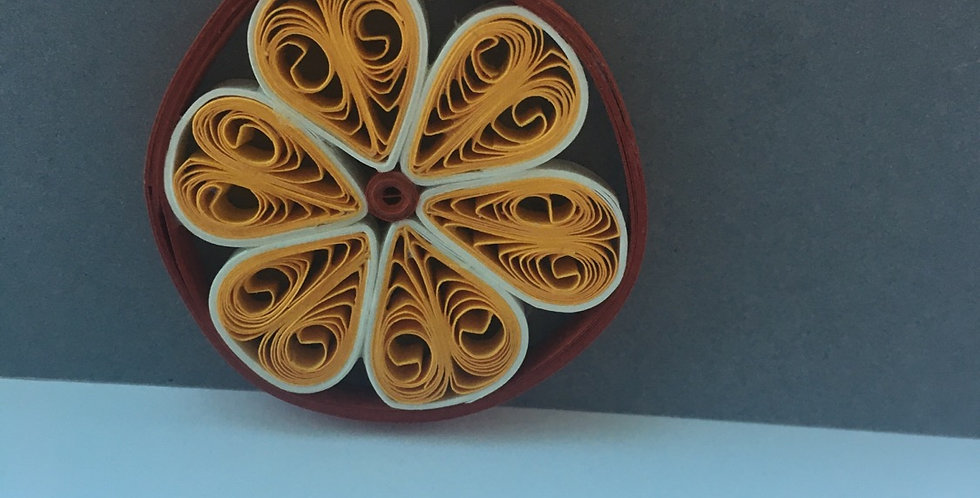 Orange Blossom Pendant