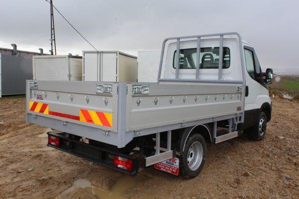 Open Alluminium Truck Body 2