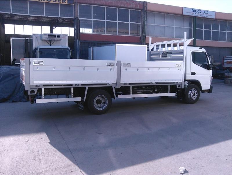 Open Alluminium Truck Body 6
