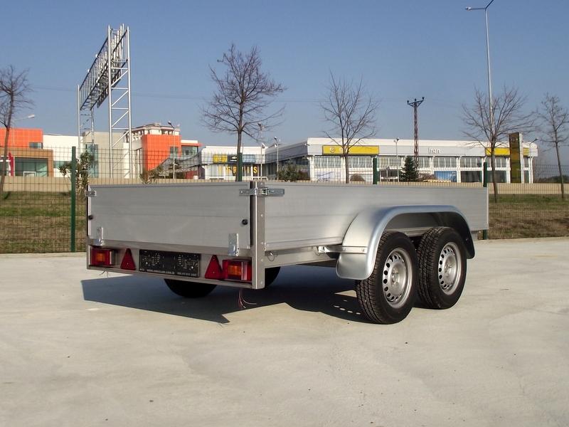 Open Alluminium Truck Body 7