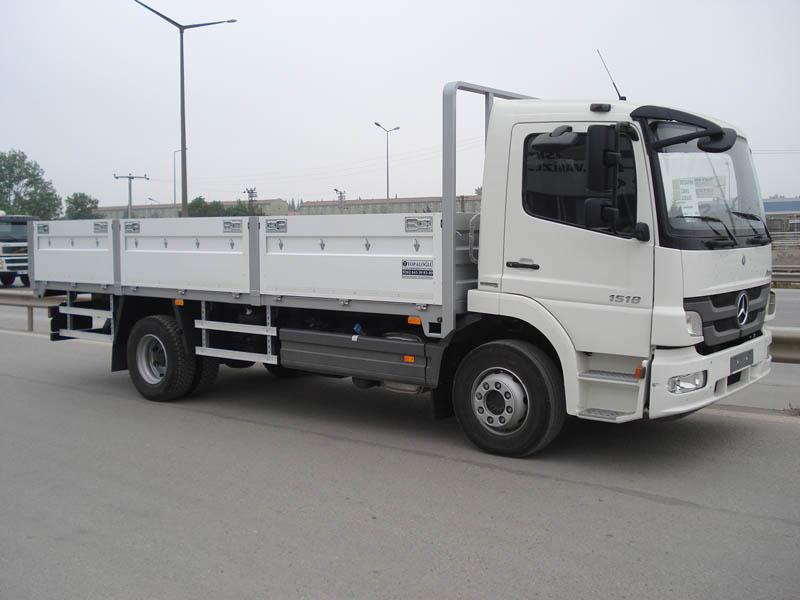 Open Alluminium Truck Body 4