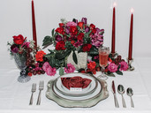 Valentines Day Inspiration Tablescape