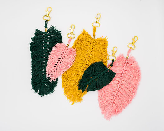 Feather Key Chain -  Purse Charms
