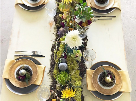 Easter 2018 Tablescape