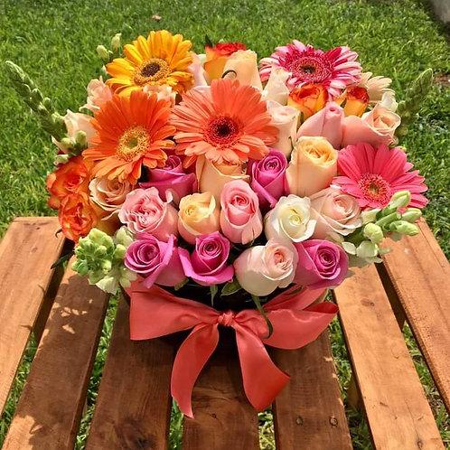 Flores en su cumpleaños
