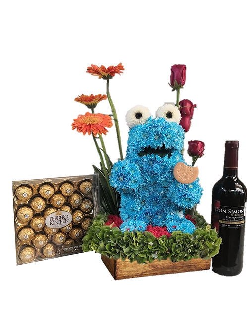 ELMO COME GALLETAS