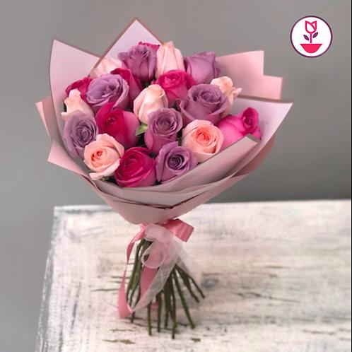 Pastel de rosas