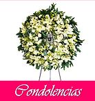 Coronas funebres y flores para nuneral o enviar condolencias
