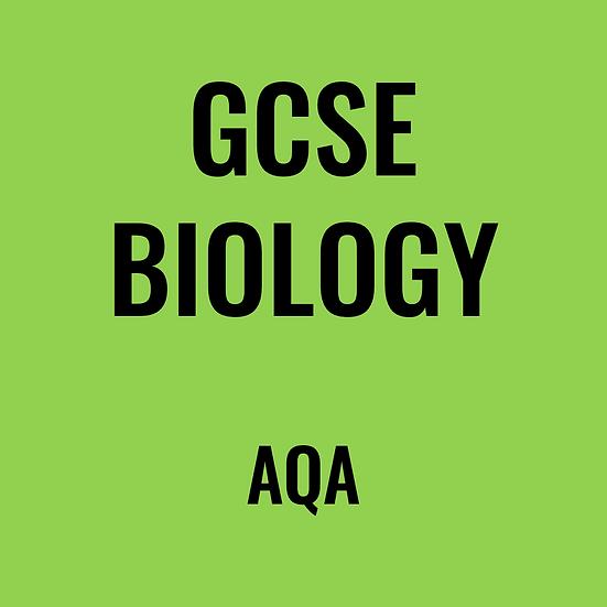 GCSE Biology - AQA