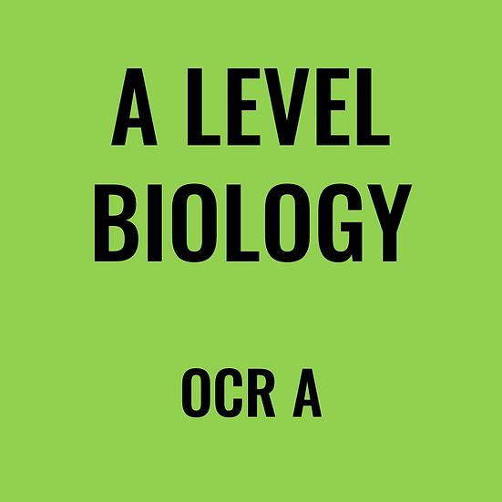 A-Level Biology - OCR A