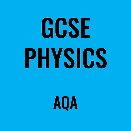GCSE Physics - AQA