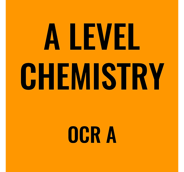 A-Level Chemistry - OCR A
