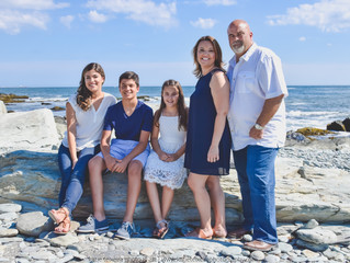 Saraiva Family Beach Session