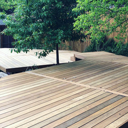 Ipe Tiered Decking