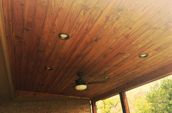 Tongue and Groove Finish