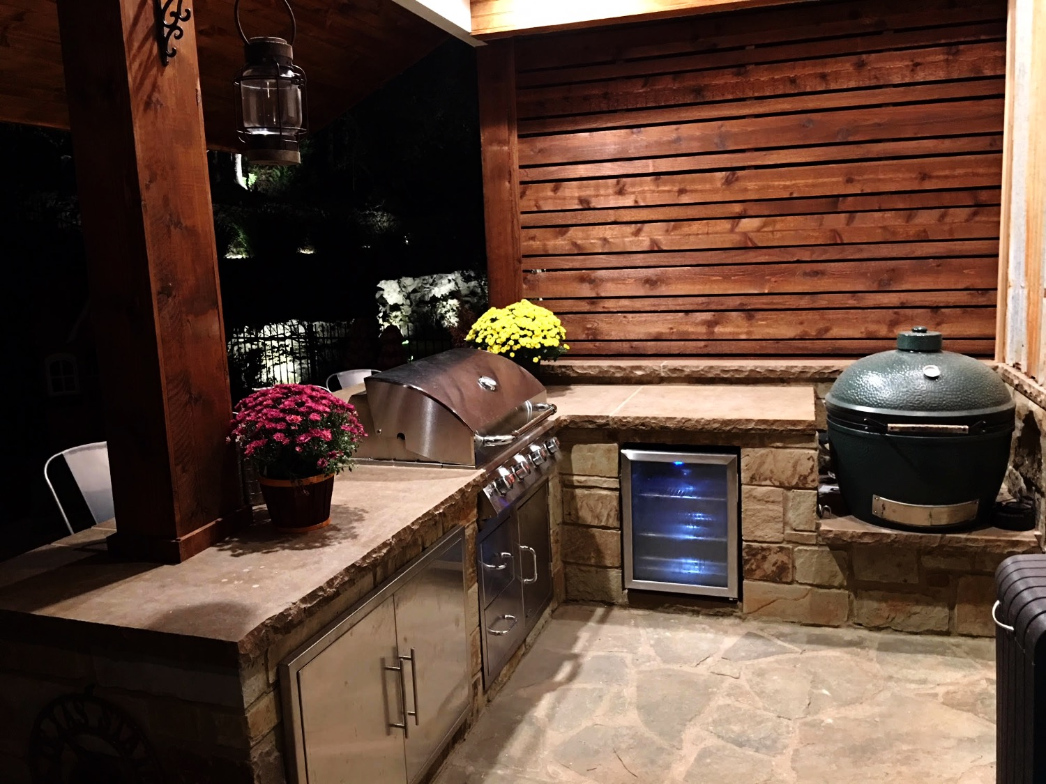 Outdoor Kitchen Setup