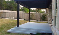 Deck and Pergola in West Austin