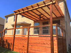 Cedar Decking and Siding