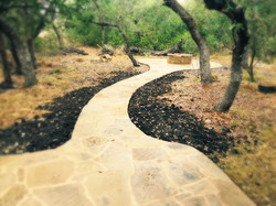 Pathway to Fire Pit