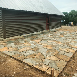 Johnson City Flagstone Patio