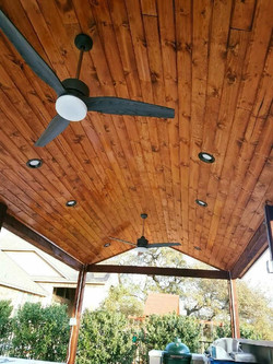 Tongue and Groove Ceiling on Cover