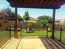 Pergola, Patio and Railing