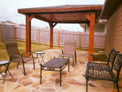 Covered Patio in Austin